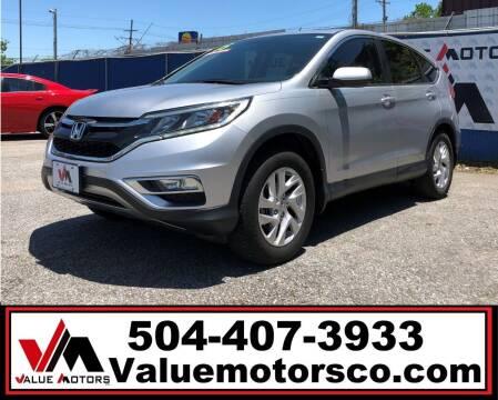 2015 Honda CR-V for sale at Value Motors Company in Marrero LA