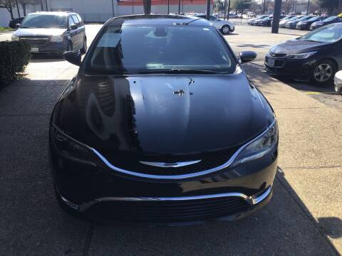 2016 Chrysler 200 for sale at Magic Auto Sales in Dallas TX