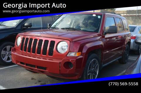 2010 Jeep Patriot for sale at Georgia Import Auto in Alpharetta GA