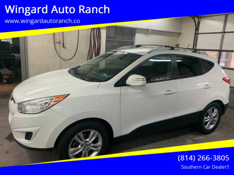 2012 Hyundai Tucson for sale at Wingard Auto Ranch in Elton PA