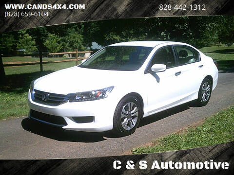 2013 Honda Accord for sale at C & S Automotive in Nebo NC