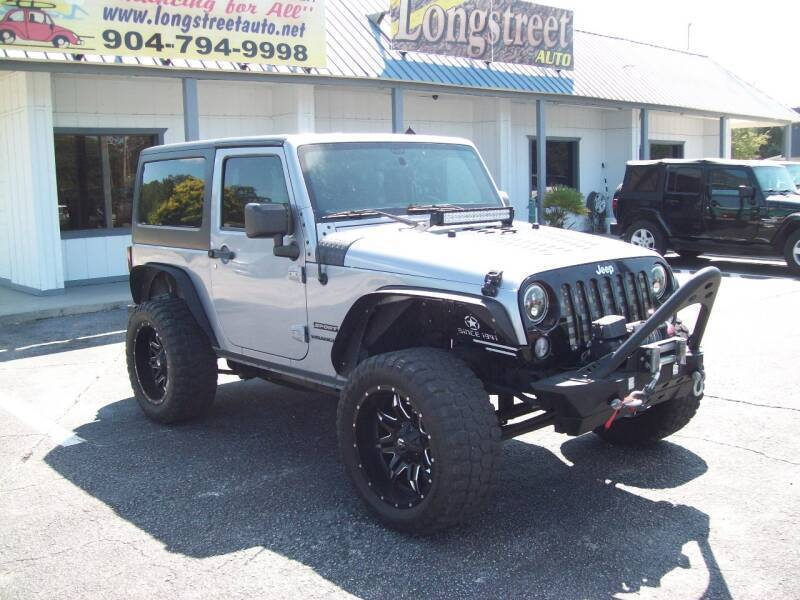 2015 Jeep Wrangler for sale at LONGSTREET AUTO in St Augustine FL
