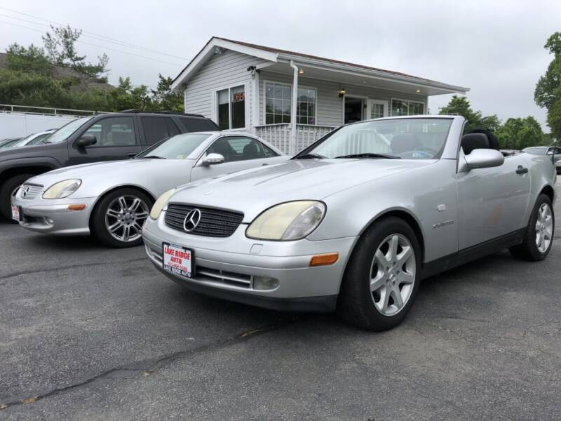 1999 Mercedes-Benz SLK for sale at Lake Ridge Auto Sales in Woodbridge VA
