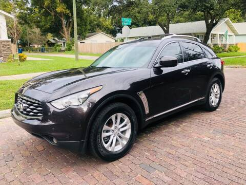 2011 Infiniti FX35 for sale at CHECK  AUTO INC. in Tampa FL