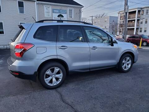 2015 Subaru Forester for sale at CHIP'S SERVICE CENTER in Portland ME