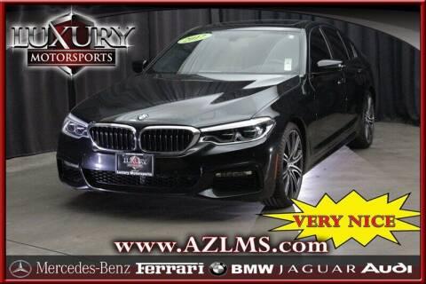 2017 BMW 5 Series for sale at Luxury Motorsports in Phoenix AZ