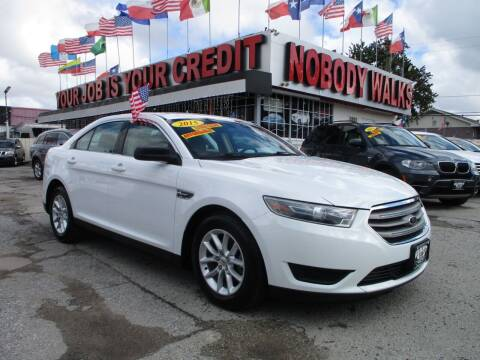 2015 Ford Taurus for sale at Giant Auto Mart 2 in Houston TX