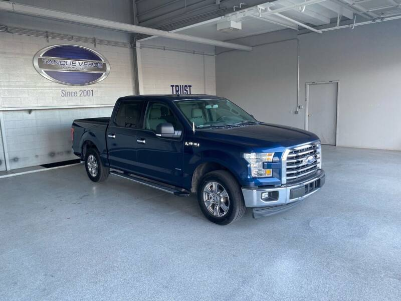 2017 Ford F-150 for sale at TANQUE VERDE MOTORS in Tucson AZ