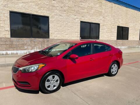 2016 Kia Forte for sale at Dream Lane Motors in Euless TX