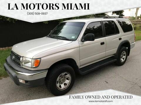 2000 Toyota 4Runner for sale at LA Motors Miami in Miami FL