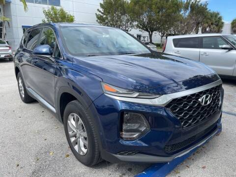 2019 Hyundai Santa Fe for sale at DORAL HYUNDAI in Doral FL