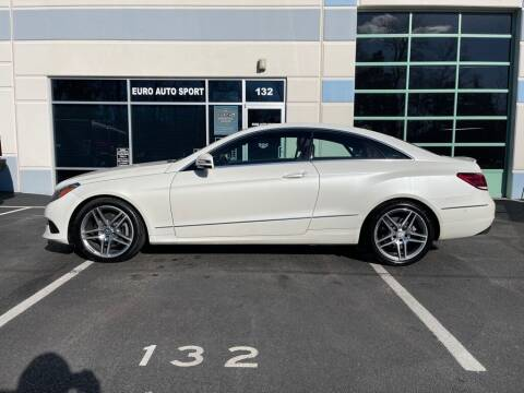 2015 Mercedes-Benz E-Class for sale at Euro Auto Sport in Chantilly VA