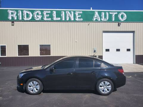 2014 Chevrolet Cruze for sale at RIDGELINE AUTO in Chubbuck ID