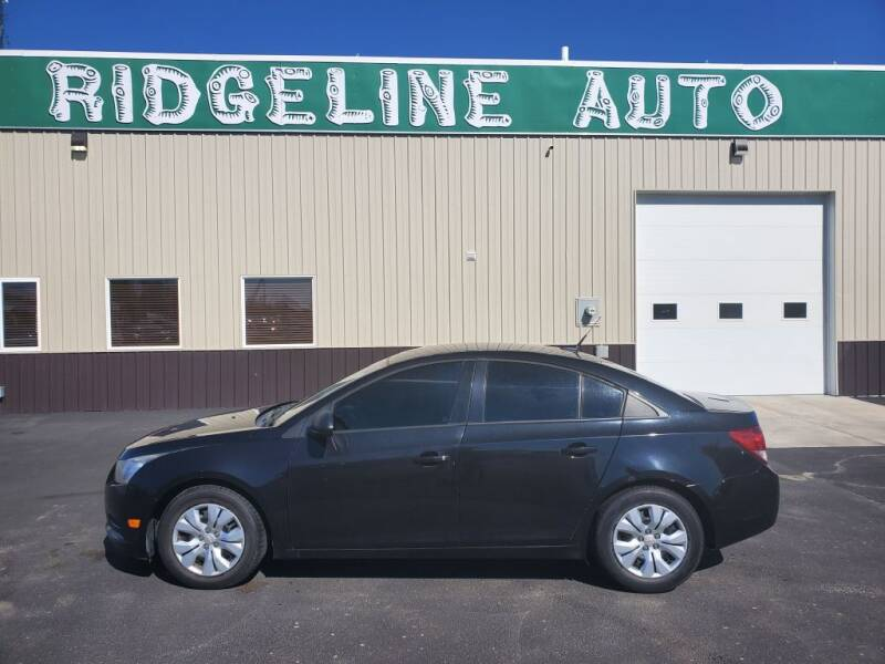 2014 Chevrolet Cruze for sale at RIDGELINE AUTO in Chubbuck ID