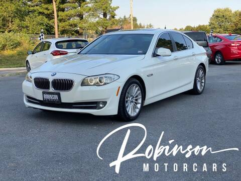2011 BMW 5 Series for sale at Robinson Motorcars in Inwood WV