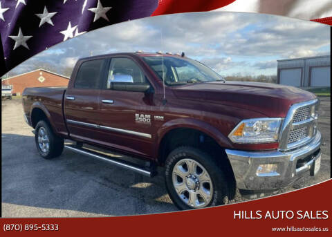2018 RAM Ram Pickup 2500 for sale at Hills Auto Sales in Salem AR