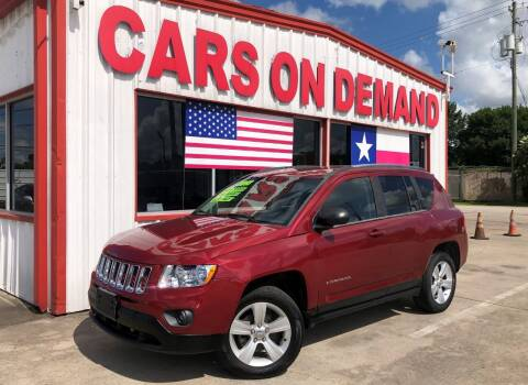 2013 Jeep Compass for sale at Cars On Demand 3 in Pasadena TX
