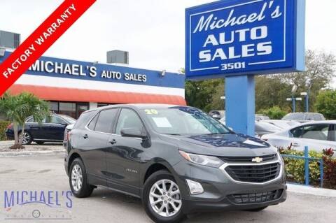 2020 Chevrolet Equinox for sale at Michael's Auto Sales Corp in Hollywood FL