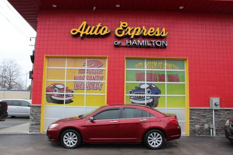 2014 Chrysler 200 for sale at AUTO EXPRESS OF HAMILTON LLC in Hamilton OH