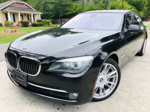 2011 BMW 7 Series for sale at Cobb Luxury Cars in Marietta GA