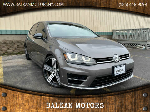 2016 Volkswagen Golf R for sale at BALKAN MOTORS in East Rochester NY