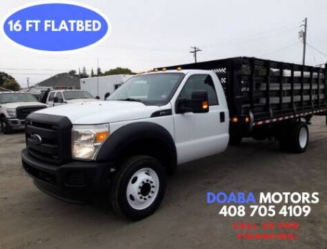 2013 Ford F-550 Super Duty for sale at DOABA Motors in San Jose CA