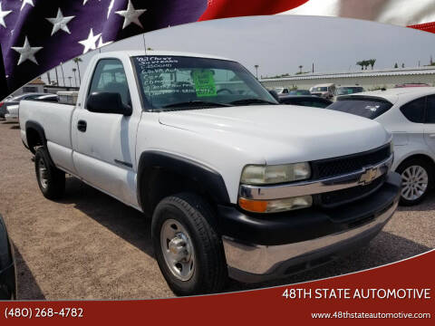 2002 Chevrolet Silverado 2500HD for sale at 48TH STATE AUTOMOTIVE in Mesa AZ