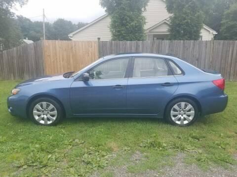 2008 Subaru Impreza for sale at ALL Motor Cars LTD in Tillson NY