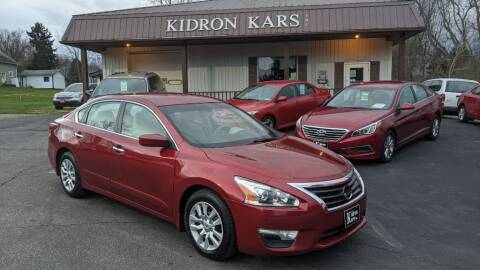 2015 Nissan Altima for sale at Kidron Kars INC in Orrville OH