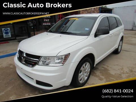 2015 Dodge Journey for sale at Classic Auto Brokers in Haltom City TX