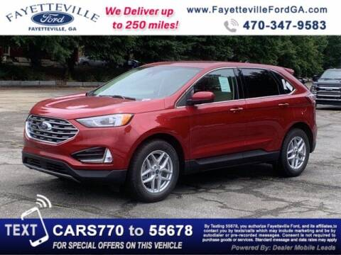 2021 Ford Edge for sale at MYFAYETTEVILLEFORD.COM in Fayetteville GA