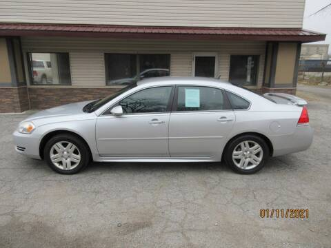 2013 Chevrolet Impala for sale at Settle Auto Sales TAYLOR ST. in Fort Wayne IN