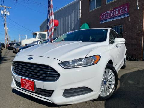 2013 Ford Fusion Hybrid for sale at Carlider USA in Everett MA