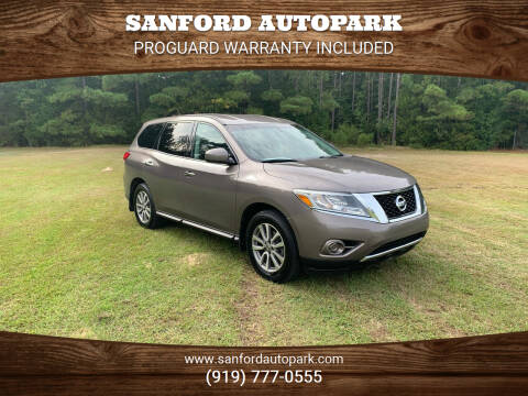 2014 Nissan Pathfinder for sale at Sanford Autopark in Sanford NC