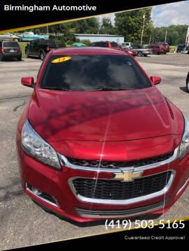 2014 Chevrolet Malibu for sale at Birmingham Automotive in Birmingham OH