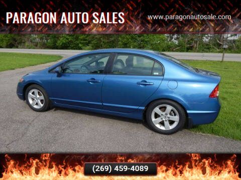 2008 Honda Civic for sale at PARAGON AUTO SALES in Portage MI