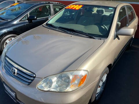 2004 Toyota Corolla for sale at CARZ in San Diego CA