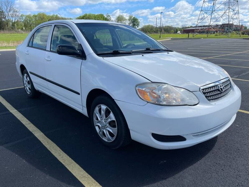 2008 Toyota Corolla for sale at Quality Motors Inc in Indianapolis IN