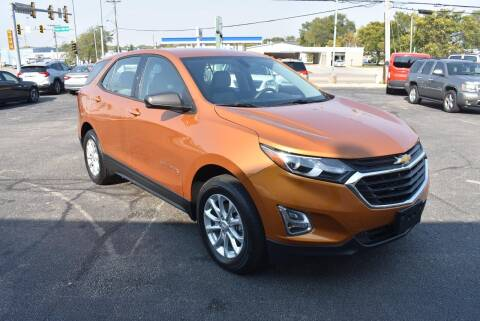 2018 Chevrolet Equinox for sale at World Class Motors in Rockford IL
