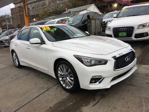 2020 Infiniti Q50 for sale at Sylhet Motors in Jamacia NY