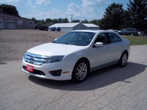 2012 Ford Fusion for sale at SHULLSBURG AUTO in Shullsburg WI