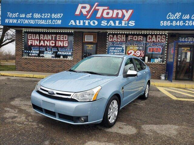 2009 Ford Focus for sale at R Tony Auto Sales in Clinton Township MI