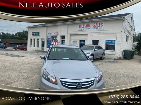 2011 Honda Accord for sale at Nile Auto Sales in Greensboro NC