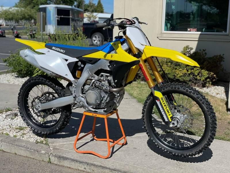 2018 Suzuki RMZ 450 for sale at Harper Motorsports-Powersports in Post Falls ID