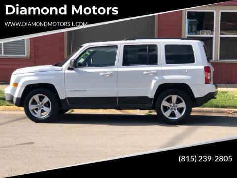 2014 Jeep Patriot for sale at Diamond Motors in Pecatonica IL