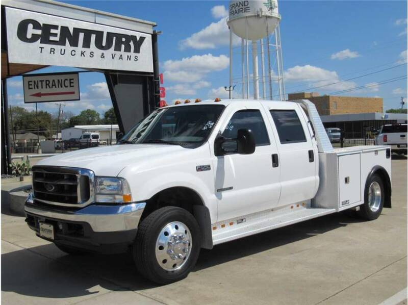 2001 Ford F-550 Super Duty for sale at CENTURY TRUCKS & VANS in Grand Prairie TX