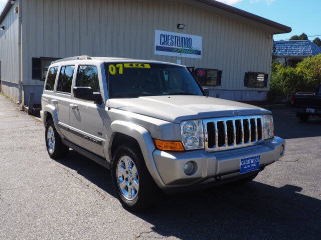 2007 Jeep Commander for sale at Crestwood Auto Sales in Swansea MA