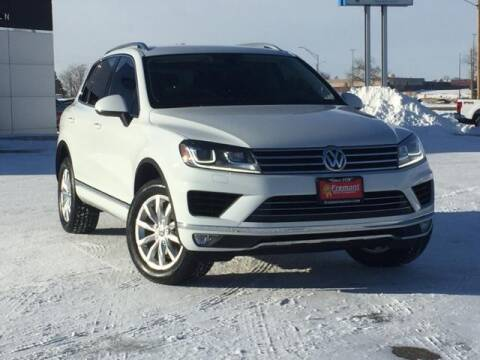 2015 Volkswagen Touareg for sale at Rocky Mountain Commercial Trucks in Casper WY