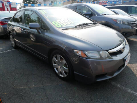 2011 Honda Civic for sale at M & R Auto Sales INC. in North Plainfield NJ