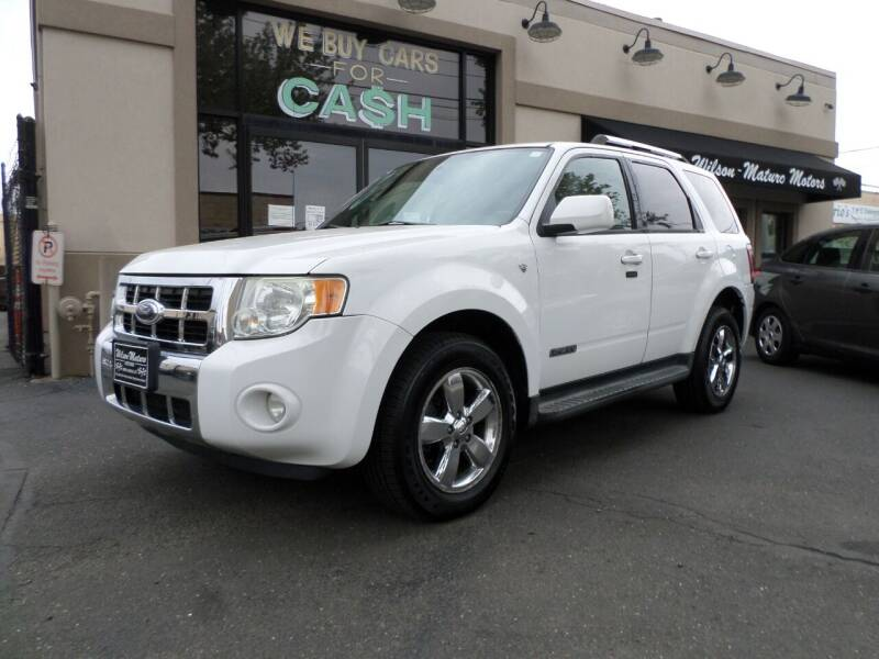 2008 Ford Escape for sale at Wilson-Maturo Motors in New Haven Ct CT
